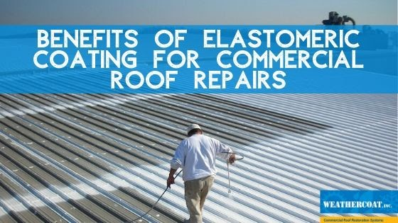 Roof coating for commercial roof repair