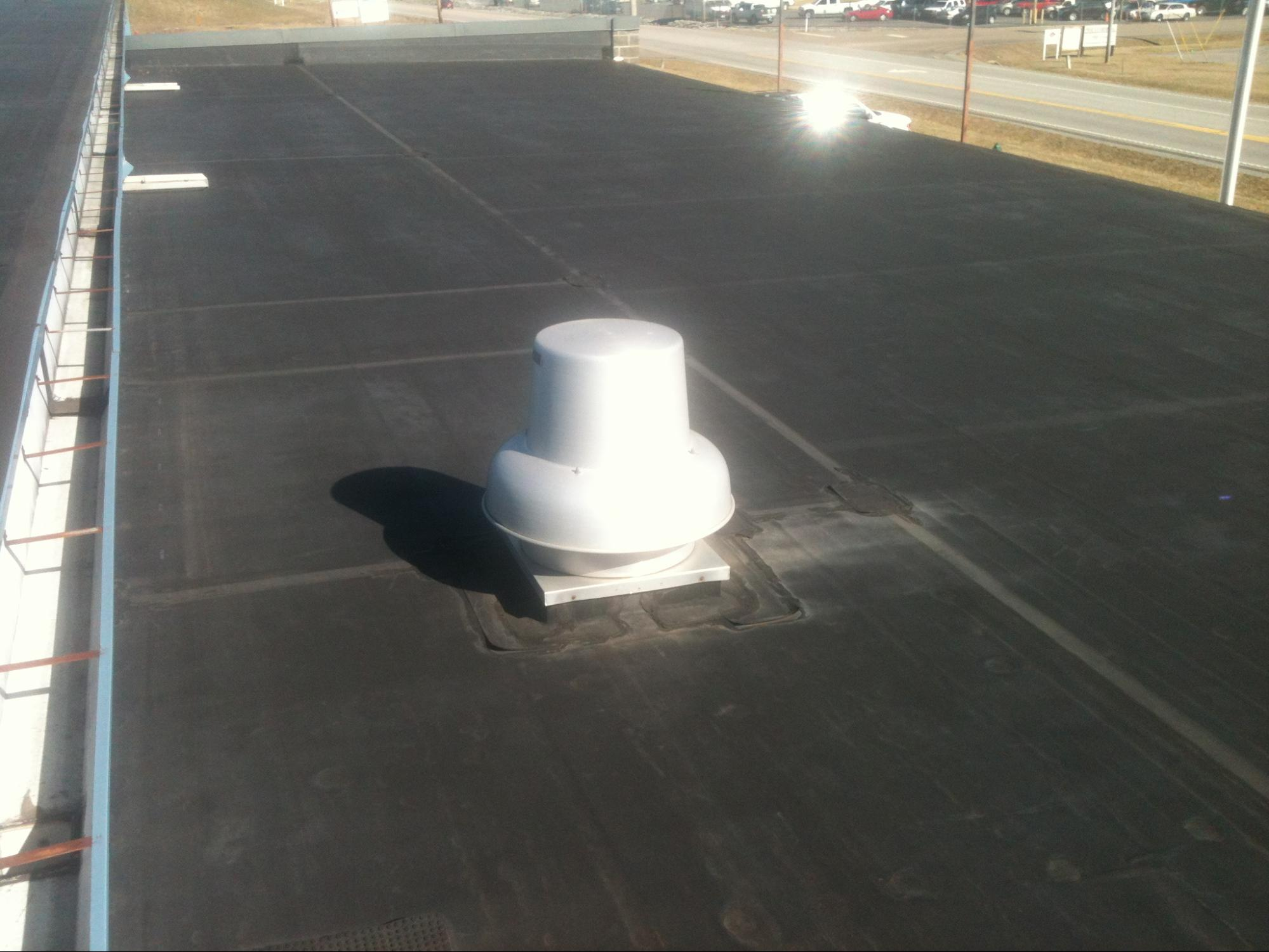 EDPM Rubber Roof